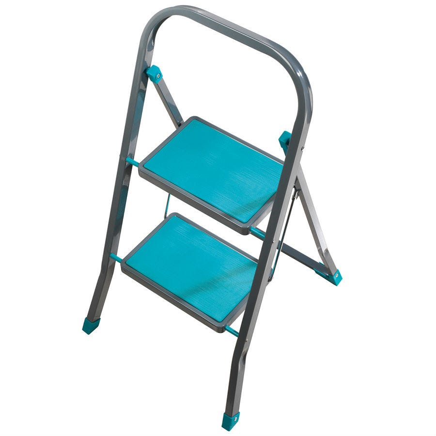 Compare retail prices of Beldray 2-Step Ladder - Turquoise to get the best deal online