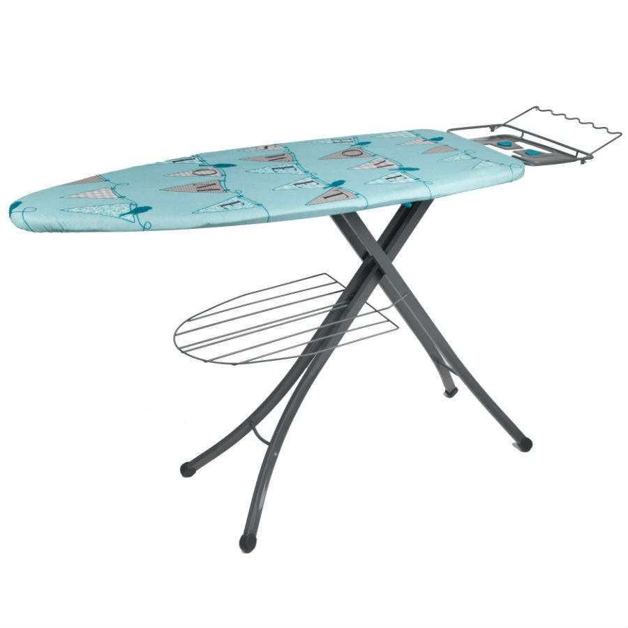 Compare cheap offers & prices of Beldray 126 x 45cm Home Bird Print Ironing Board manufactured by Beldray