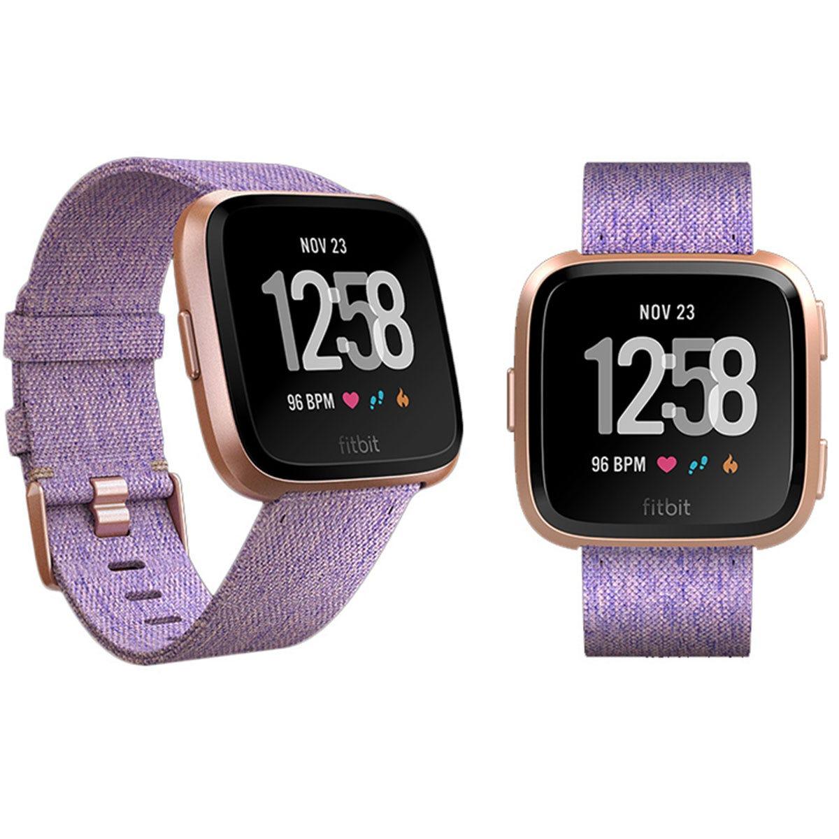Fitbit Versa Special Edition Smartwatch - Lavender