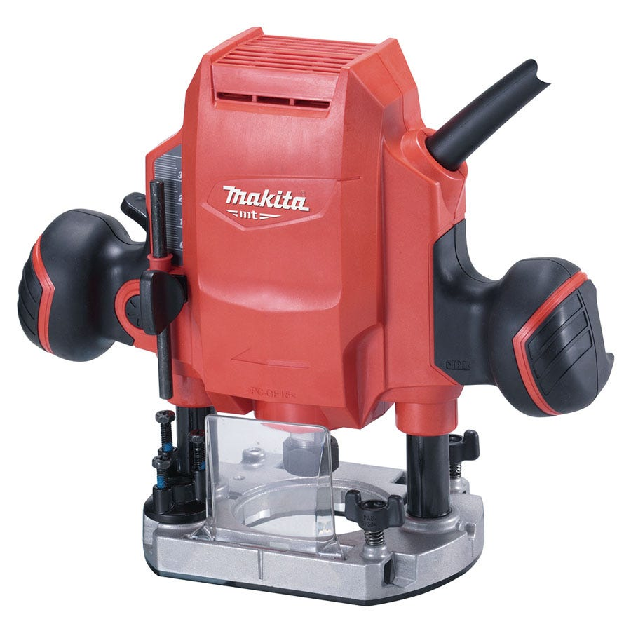 Image of Makita MT-Series M3601/2 900W Plunge Router
