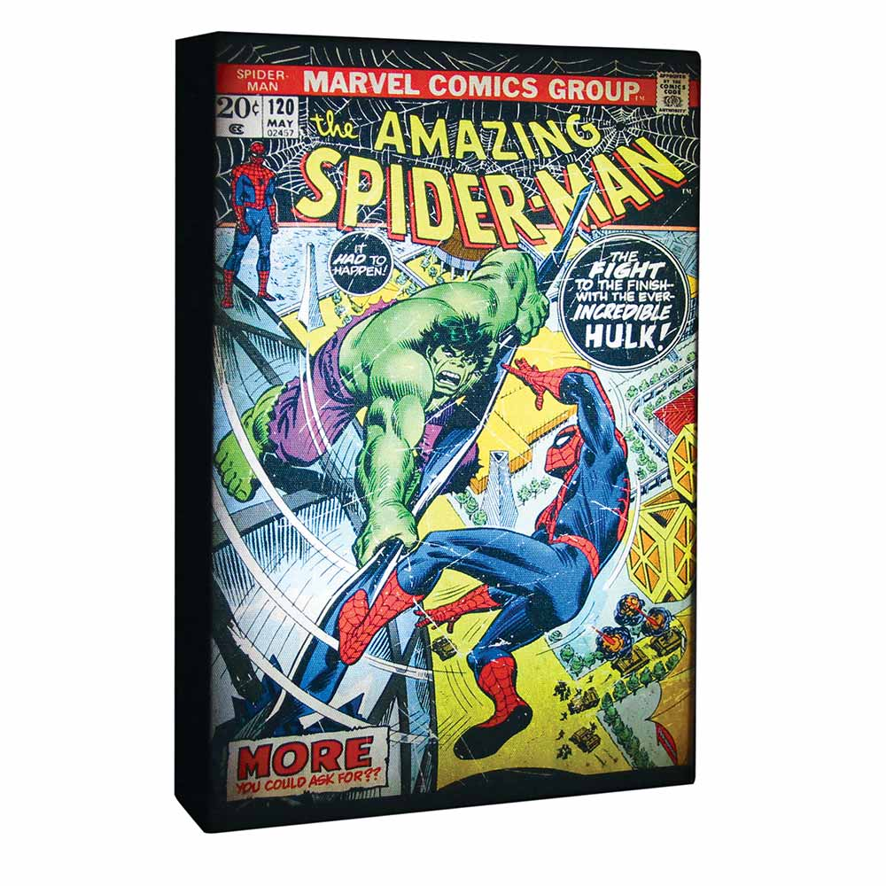 Compare retail prices of Marvel Comics Superhero Luminart Canvas to get the best deal online