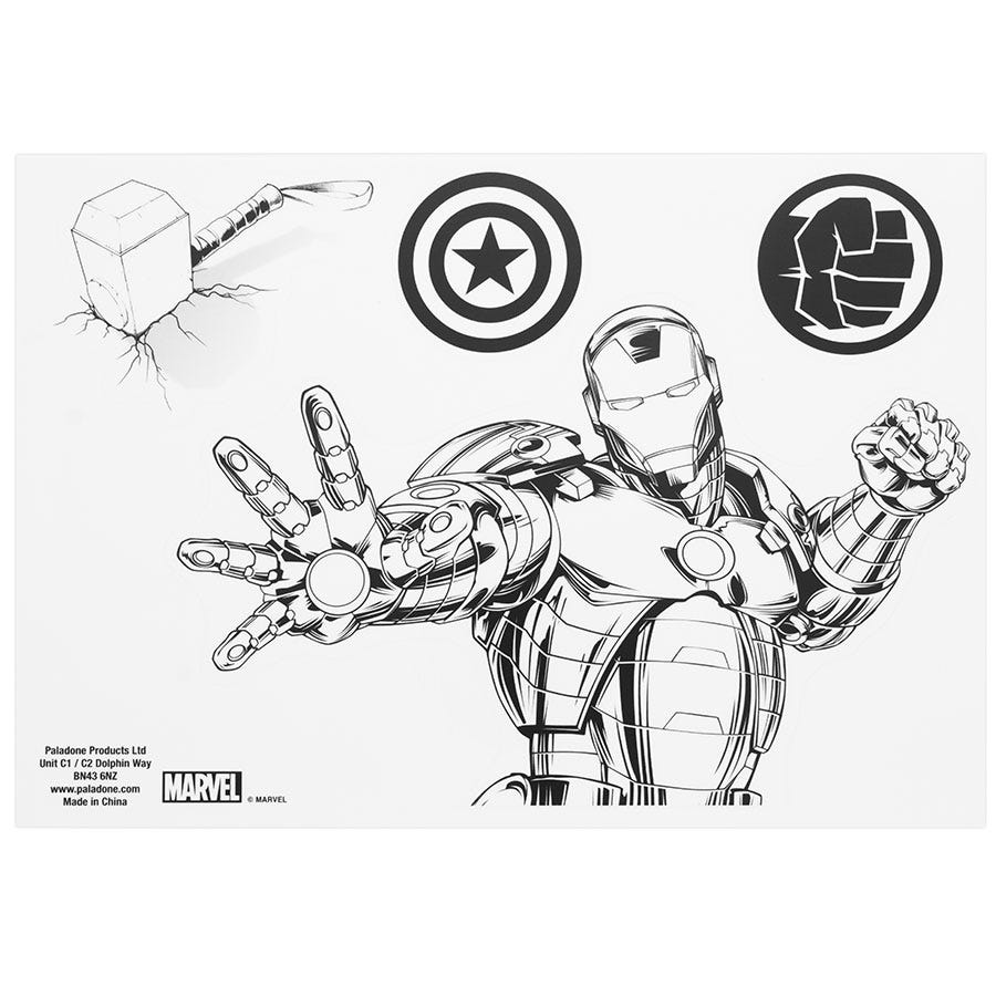 Image of Marvel Comics Marvel Gadget Decals