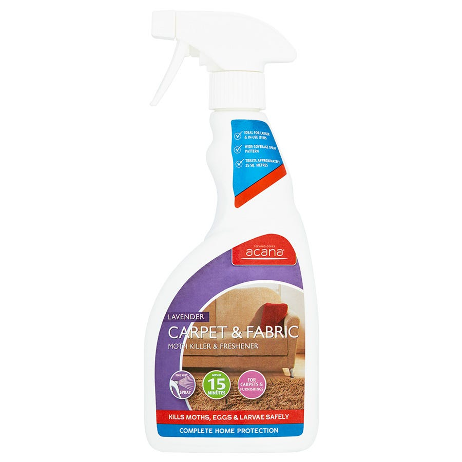 Acana Carpet & Fabric Moth Killer Spray