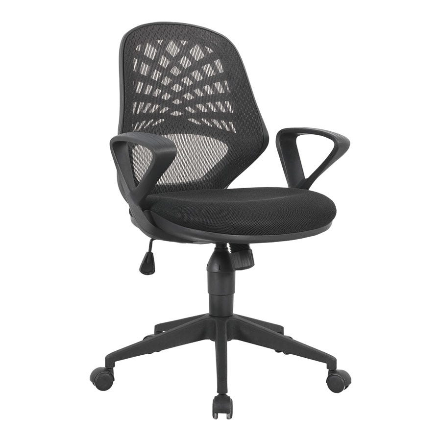Compare prices for Eliza Tinsley Mesh-Back Operator Chair with Fluted Nylon Base