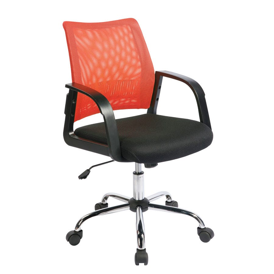Compare prices for Eliza Tinsley Mesh-Back Task Operator Chair - Orange