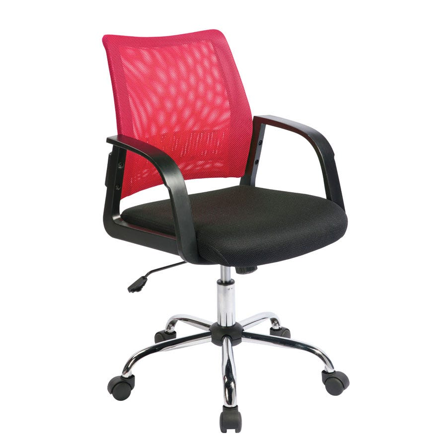 Compare prices for Eliza Tinsley Mesh-Back Task Operator Chair - Raspberry