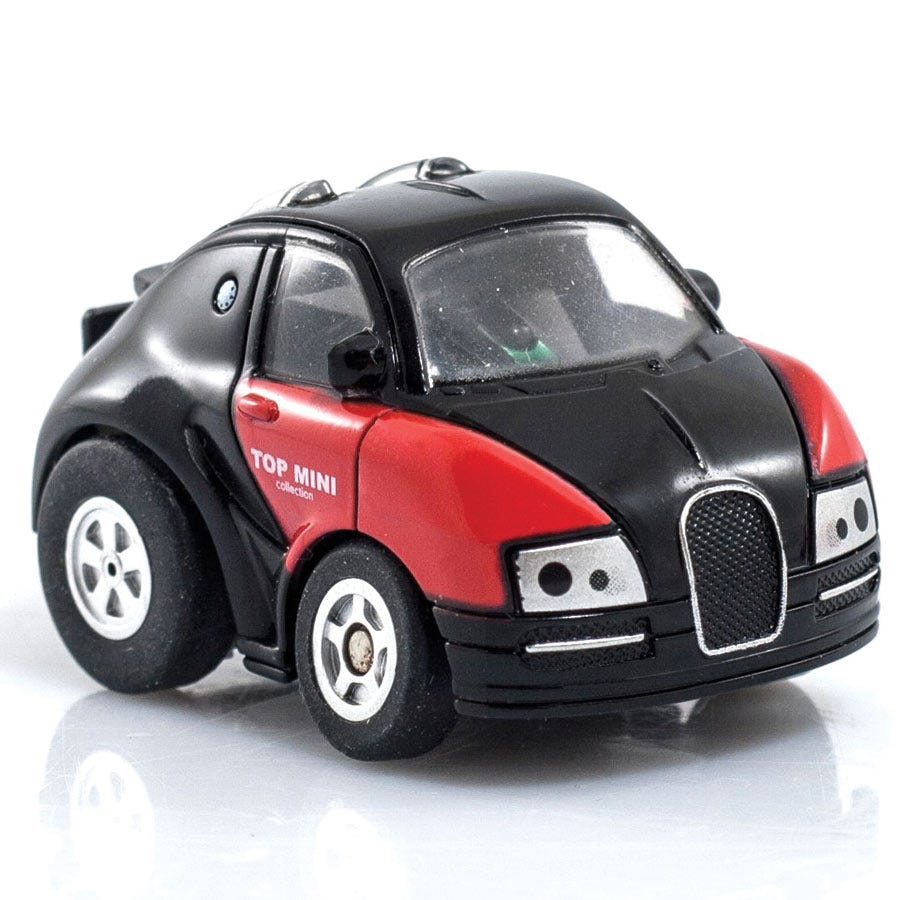 The Source Ltd Q2 Turbo Racer Micro Infrared Remote Control Car with Turbo Boost
