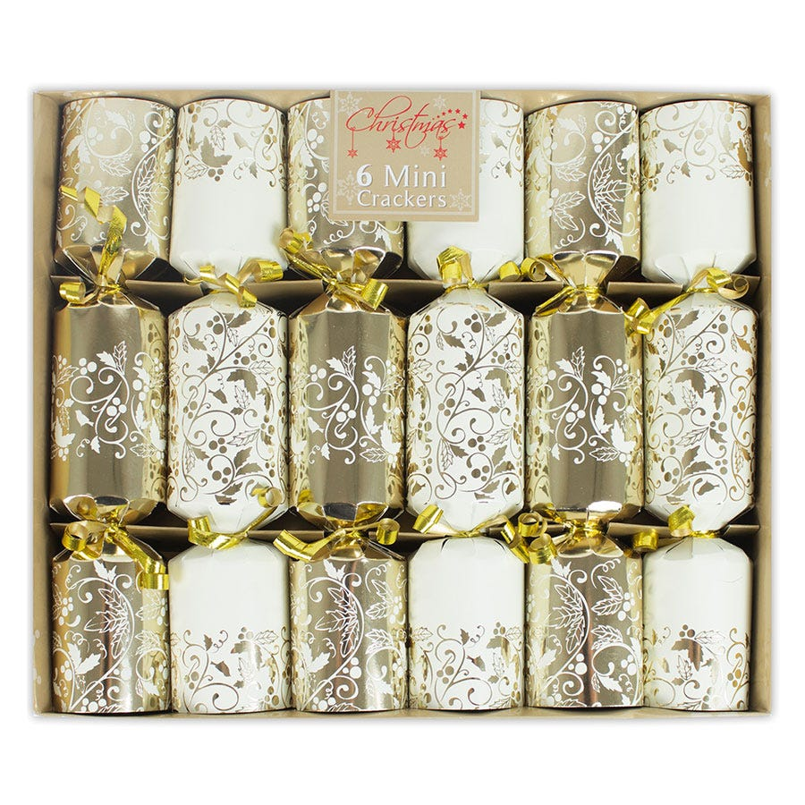 Compare cheap offers & prices of Robert Dyas Mini 8.5 Inch Luxury Crackers - 6 Pack manufactured by Robert Dyas