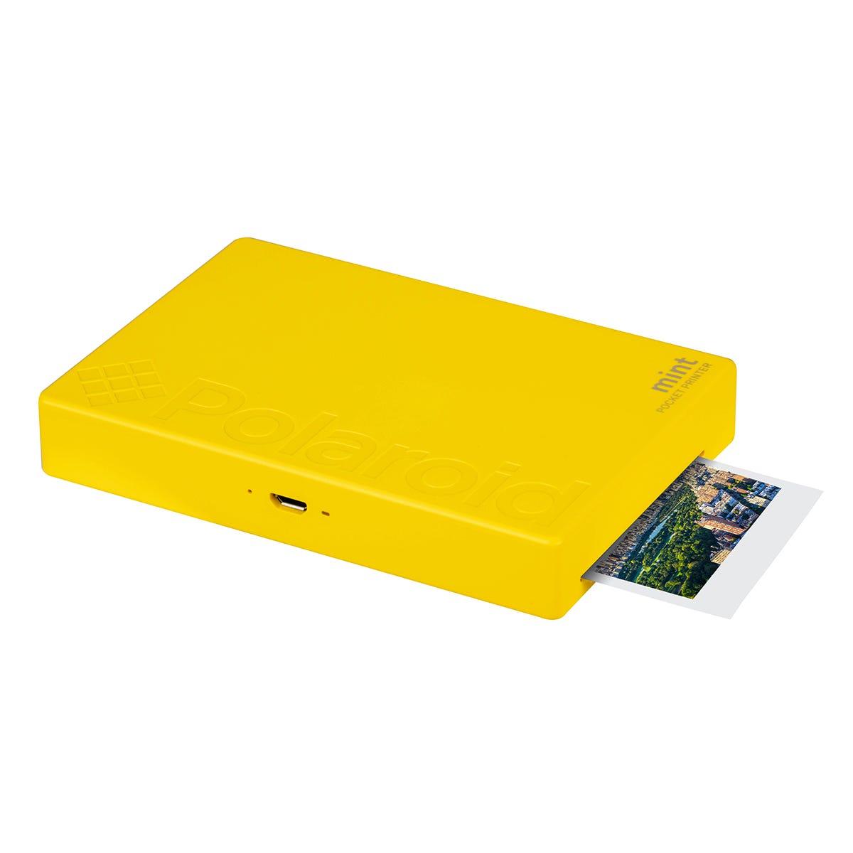 Polaroid Mint Instant Printer - Yellow