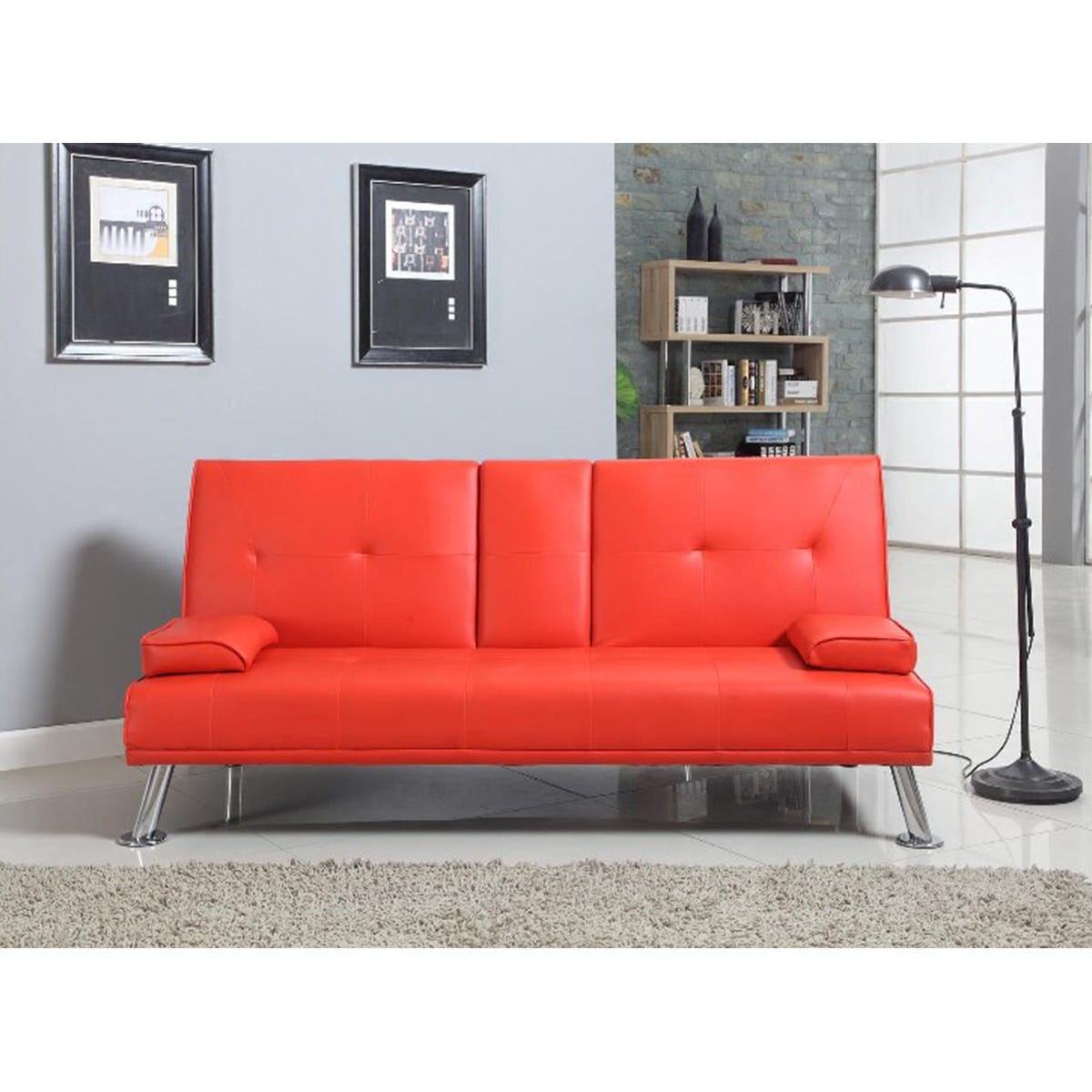 Noosa Bluetooth Sofa Bed - Red