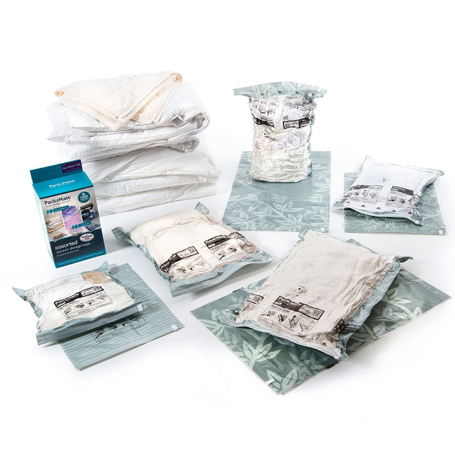 Jml Vac Pack Storage Bags Jumbo  sc 1 st  Best Ideas of Home Design and Decor & Packmate Vacuum Storage Bags.Morrisons: Packmate Large Flat Vacuum ...