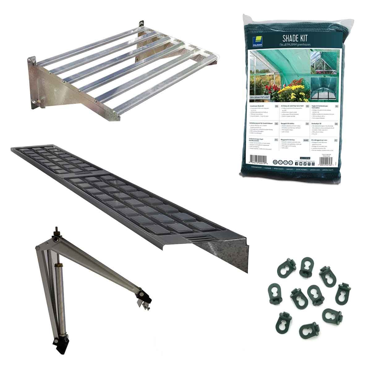 Palram - Canopia Greenhouse Accessories Value Pack