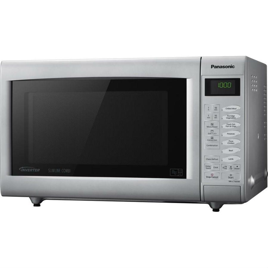 Slimline Combination Microwave Oven: Panasonic NN CT552W Slimline Combination Microwave White