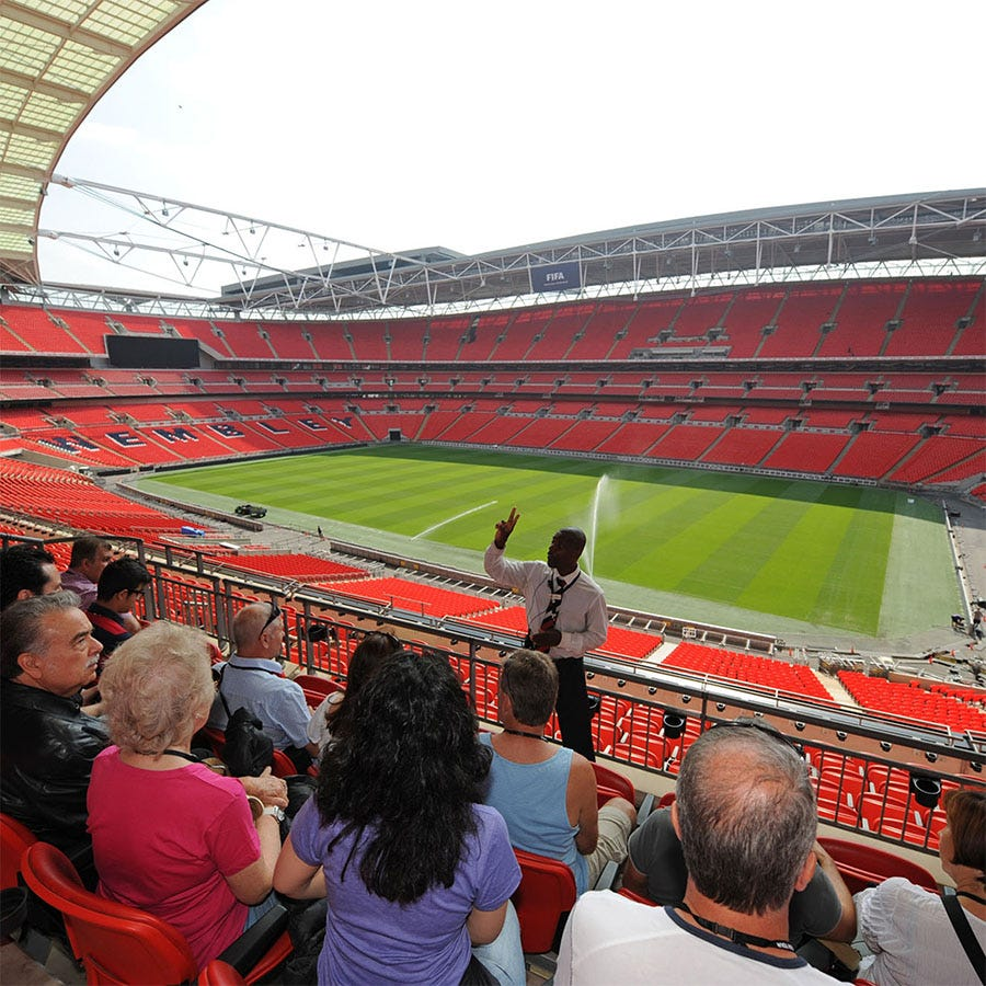Buyagift Adult Tour of Wembley Stadium for Two Experience