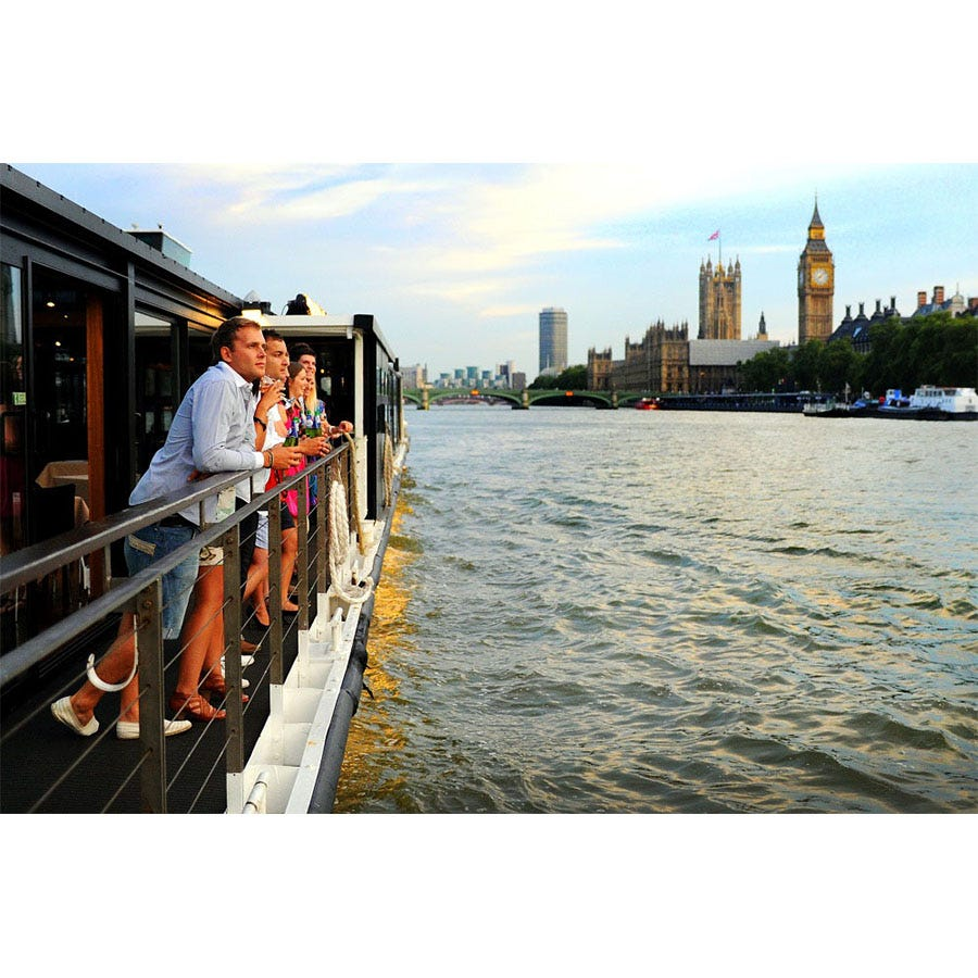 Buyagift Bateaux Thames Lunch Cruise for Two Experience
