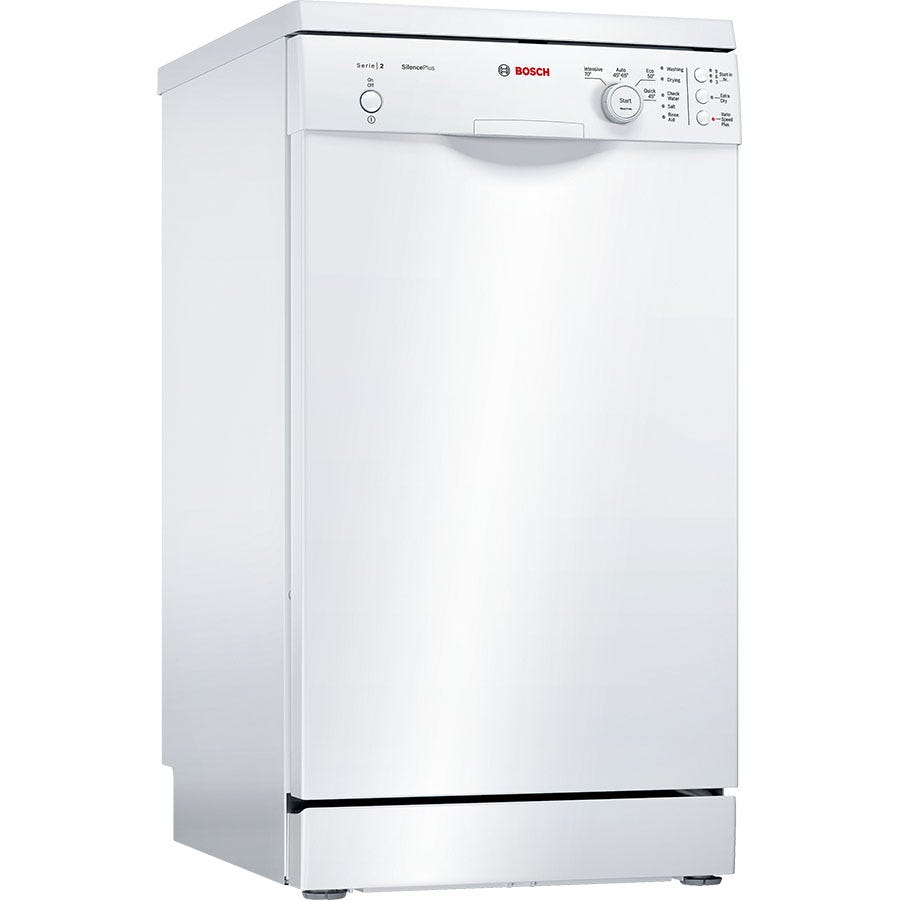 Image of Bosch Serie 2 9 Place Settings Slimline Dishwasher with ActiveWater Technology - White