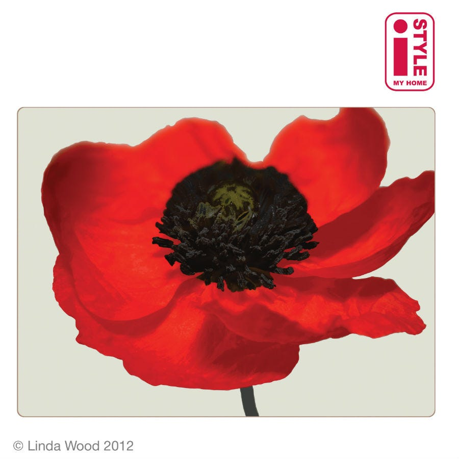 Image of Poppy Placemats – Set of 4