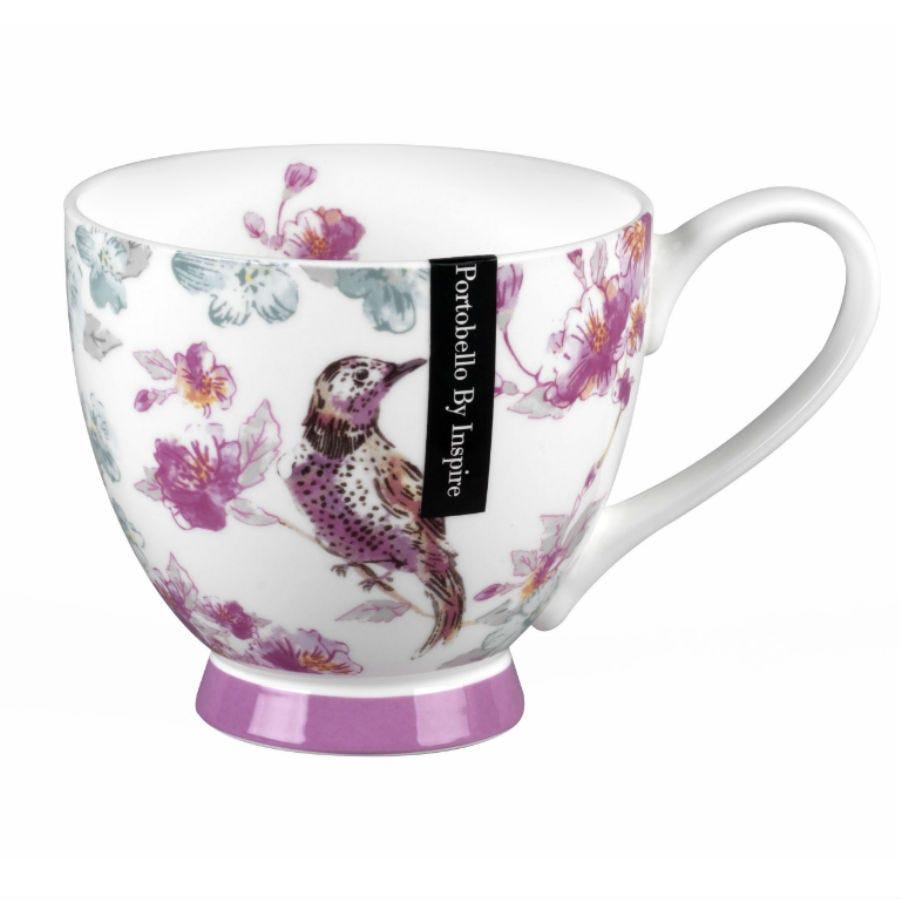 Image of Portobello Bird Song Fine Bone China Mug