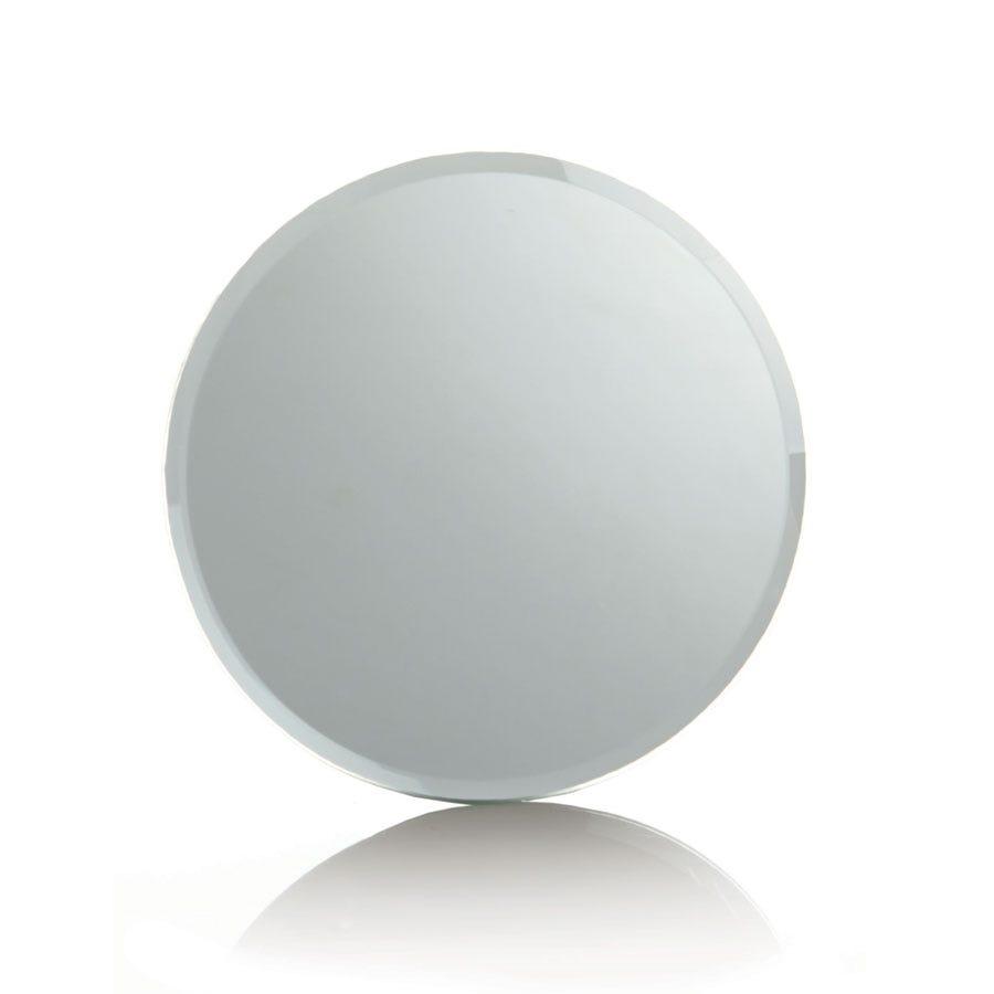 Compare prices for Premier Decoration Ltd Premier 20cm Glass Mirror Candle Plate