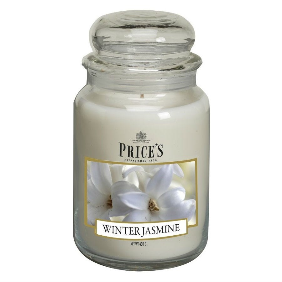 Image of Price's Large Scented Candle – Winter Jasmine