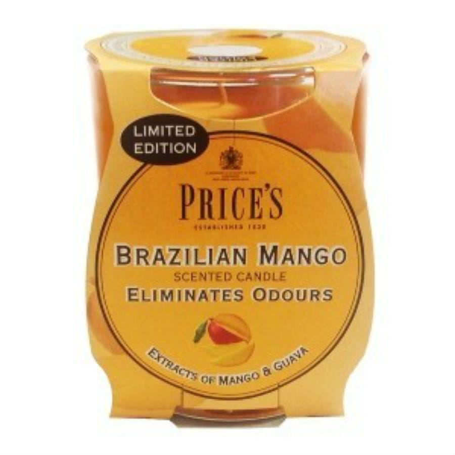 Image of Price's Scented Candle – Brazilian Mango