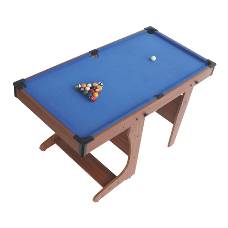 BCE 4ft6 Clifton FOLDING Pool Table PT2046D + Free Gift!