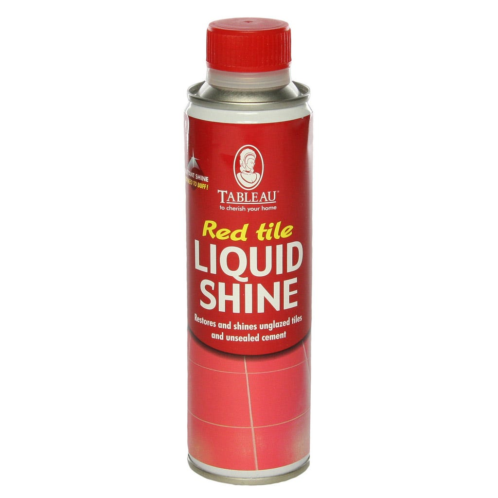 Compare prices for Tableau Red Tile Liquid Shine