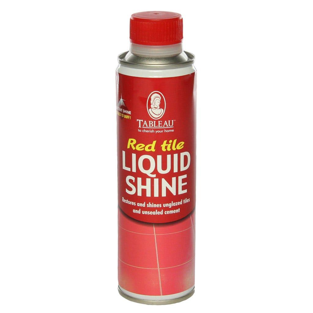 Image of Tableau Red Tile Liquid Shine