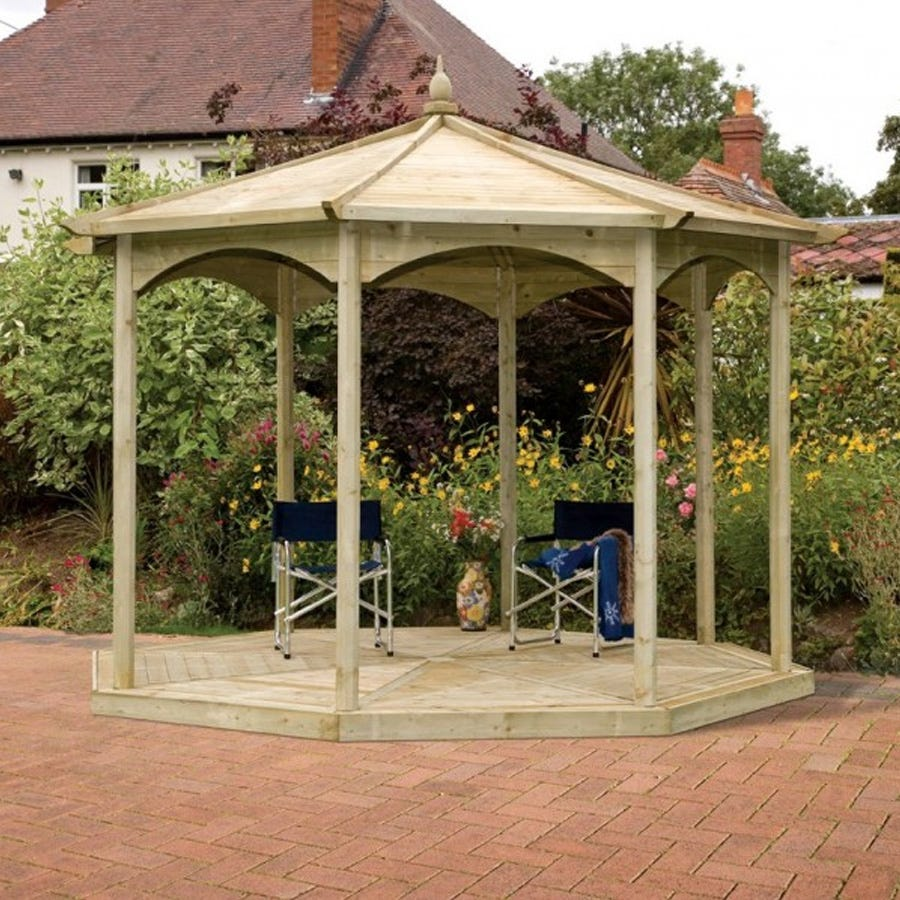Compare prices for Grange Fencing Regis Octagon Wooden Gazebo