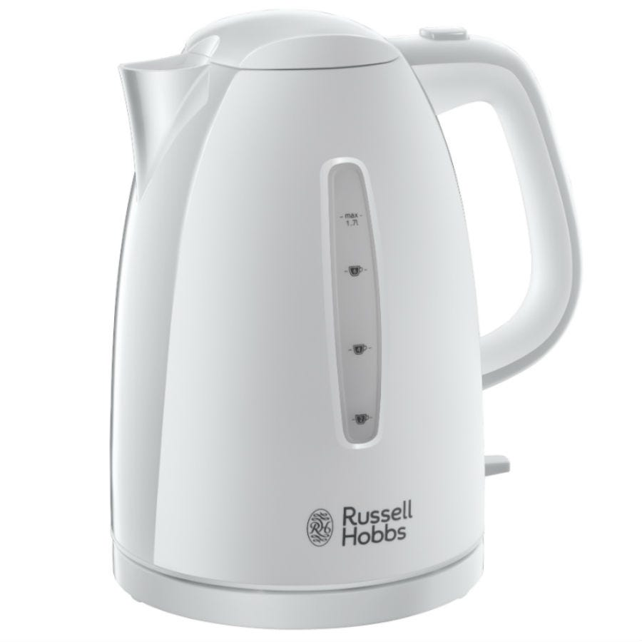 Russell Hobbs 21270 Textures 3kW 1.7L Cordless Kettle - White