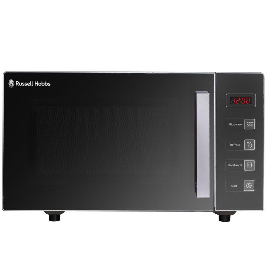 Russell Hobbs RHEM2301S 800W 23L Easi Digital Flatbed Microwave - Silver