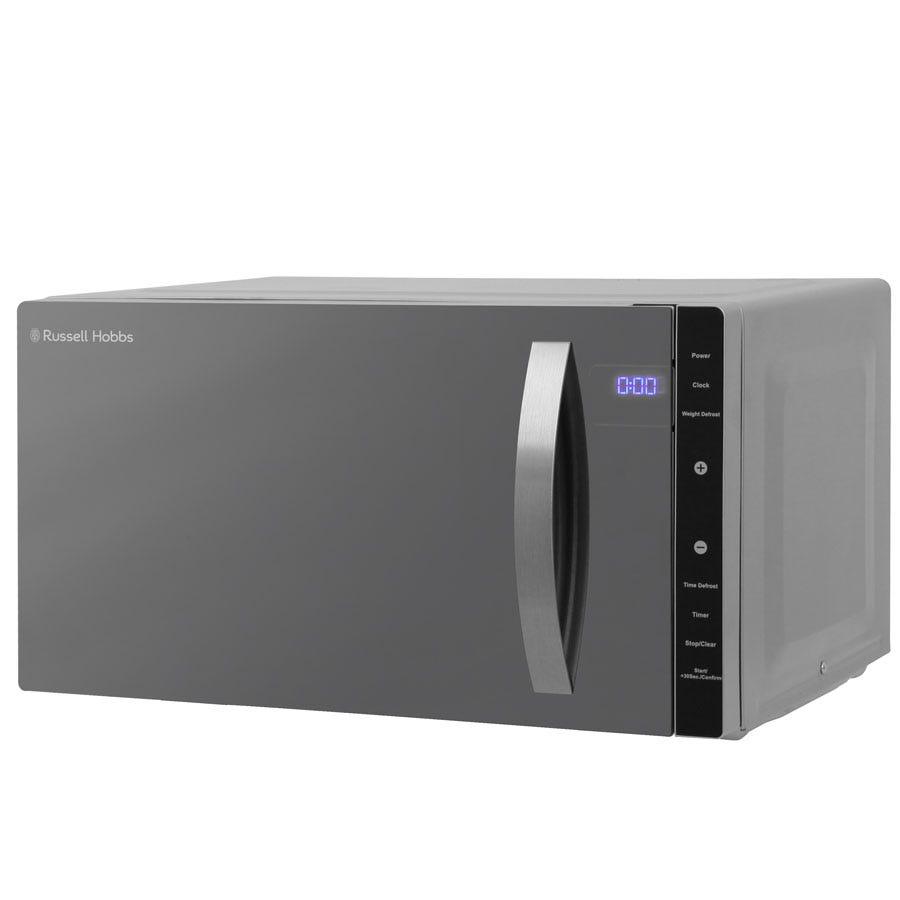 Russell Hobbs RHFM2363S 800W 23L Digital Flatbed Microwave - Silver