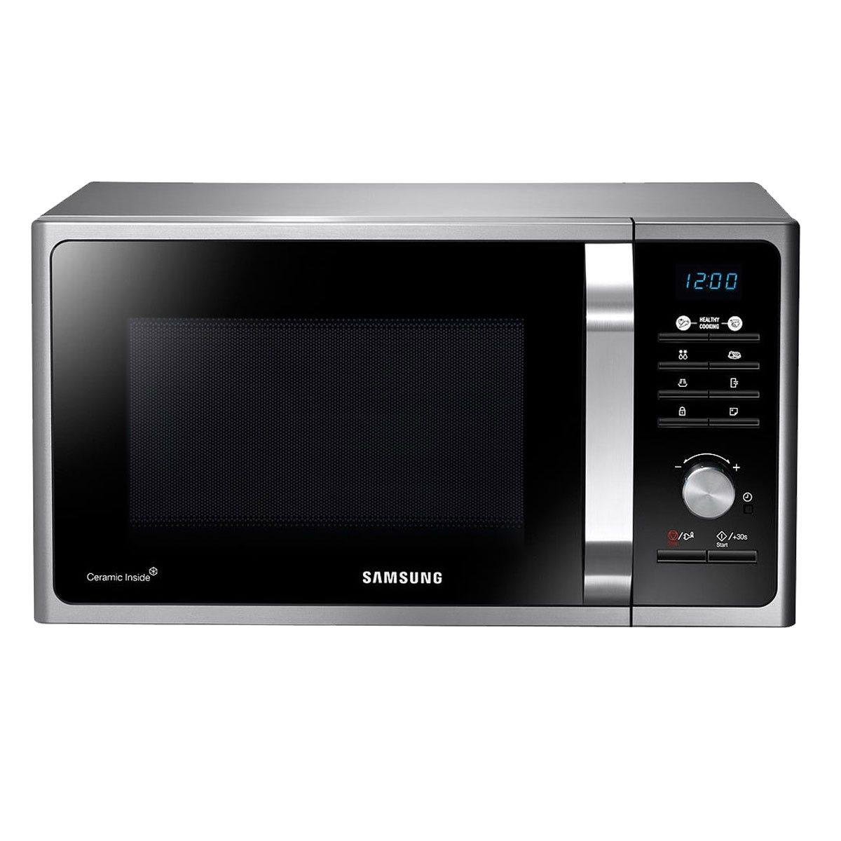 Samsung MS23F301TAS 800W 23L Solo Manual Microwave - Silver