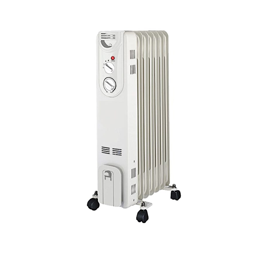 Silentnight 7 Fin 1.5Kw Oil Filled Radiator with Thermostat