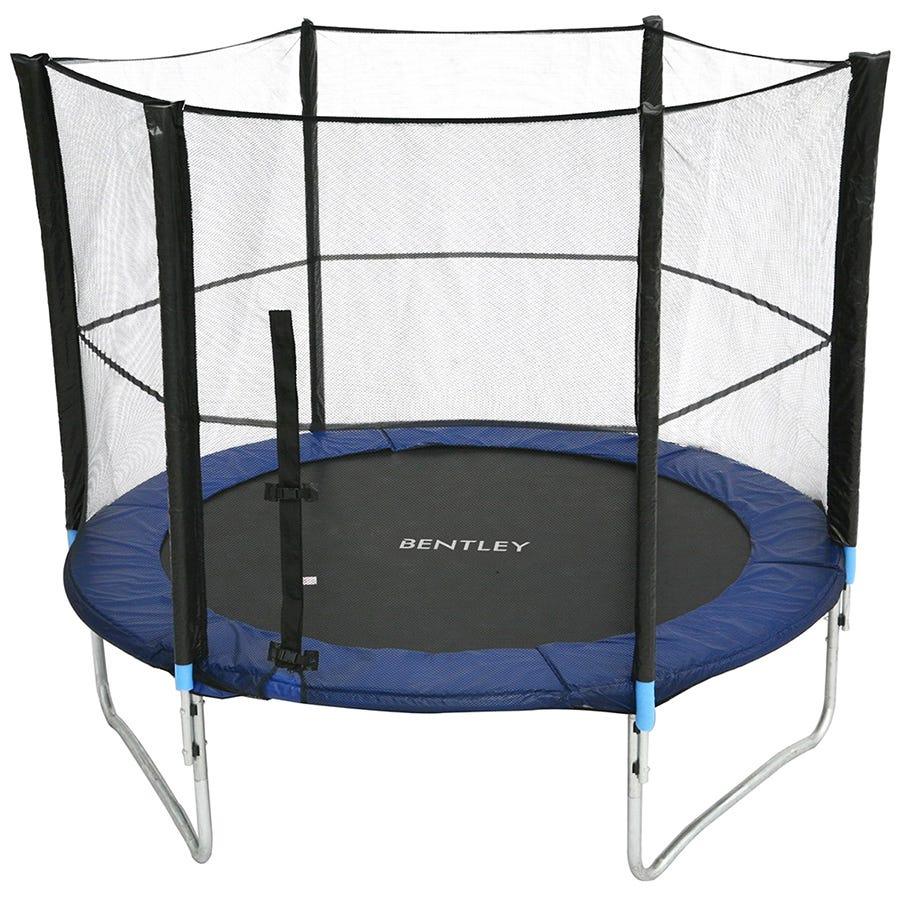 Charles Bentley Kids Junior Outdoor Activity 14Ft Trampoline With Safety Net Enclosure