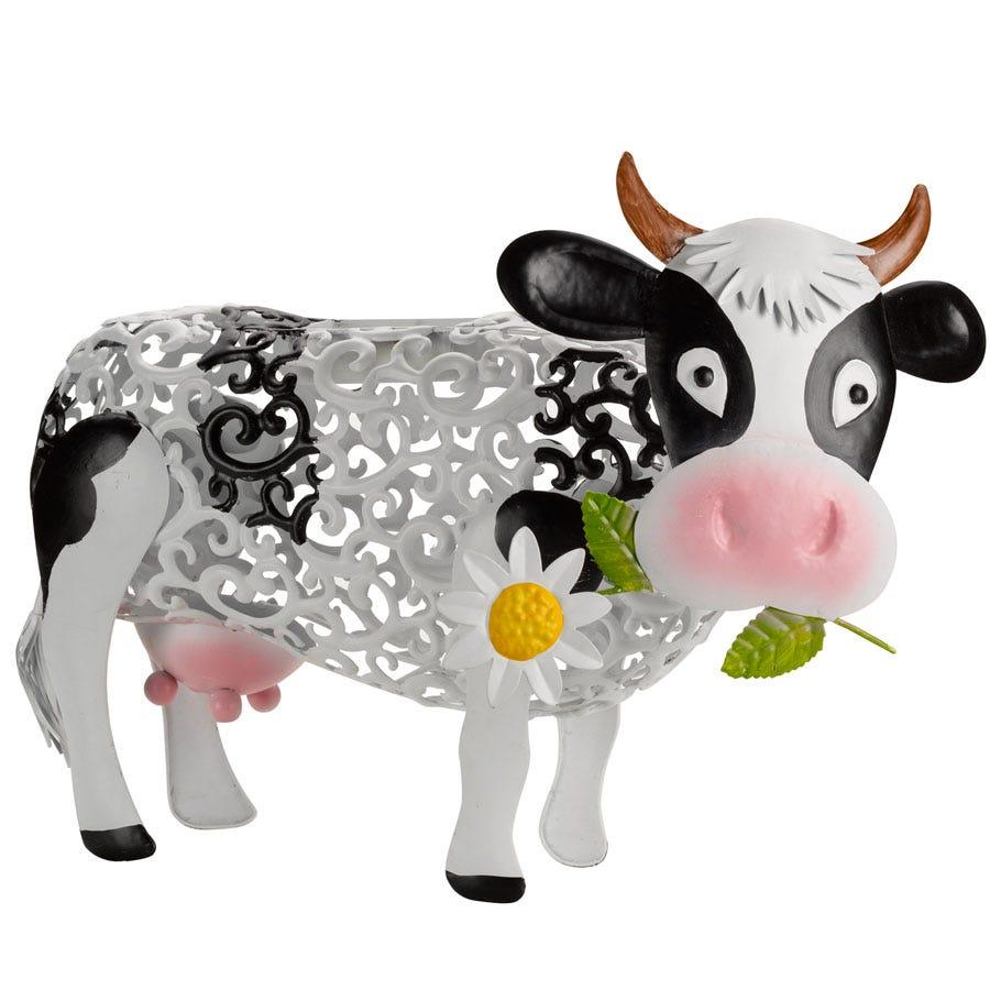 Smart Solar Smart Garden Solar Silhouette Daisy Cow