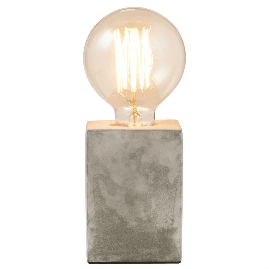 Compare prices for Gingersnap Mintage Concrete Table Lamp - Square