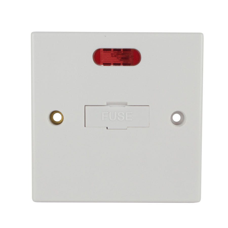 Compare prices for Status 13A Connection Unit - White