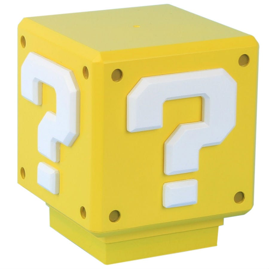 Compare prices for Super Mario Bros Mini Question Block Light
