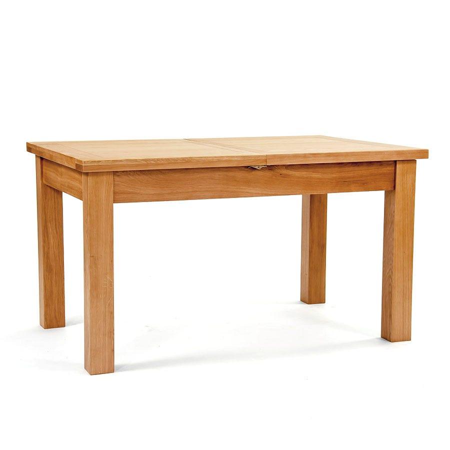 Ametis Devon Oak Extending Dining Table - 140cm to 200cm