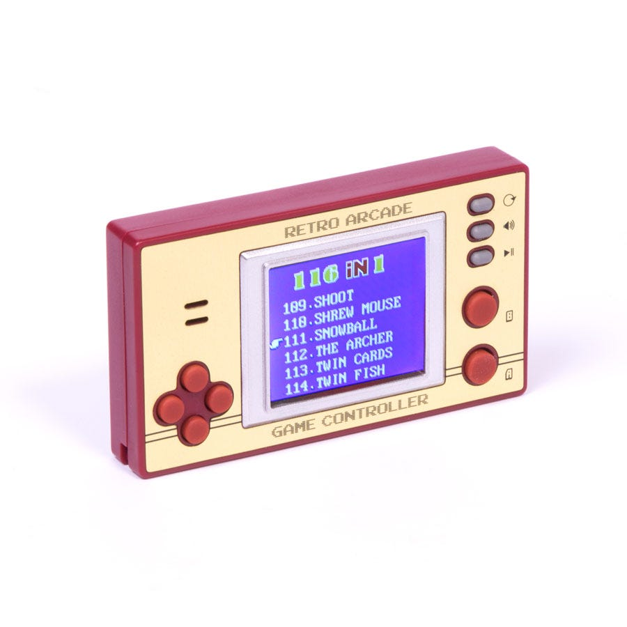 Robert Dyas Retro Pocket Games with LCD Screen