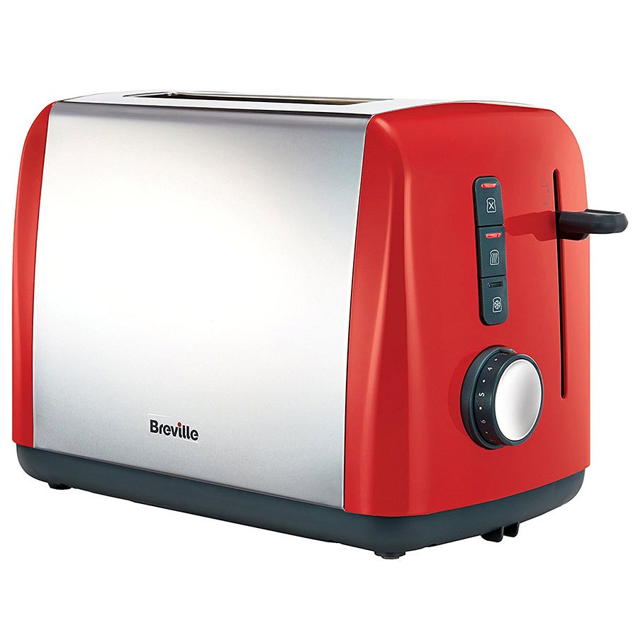Breville VTT757 Colour Collection 2-Slice Toaster - Red