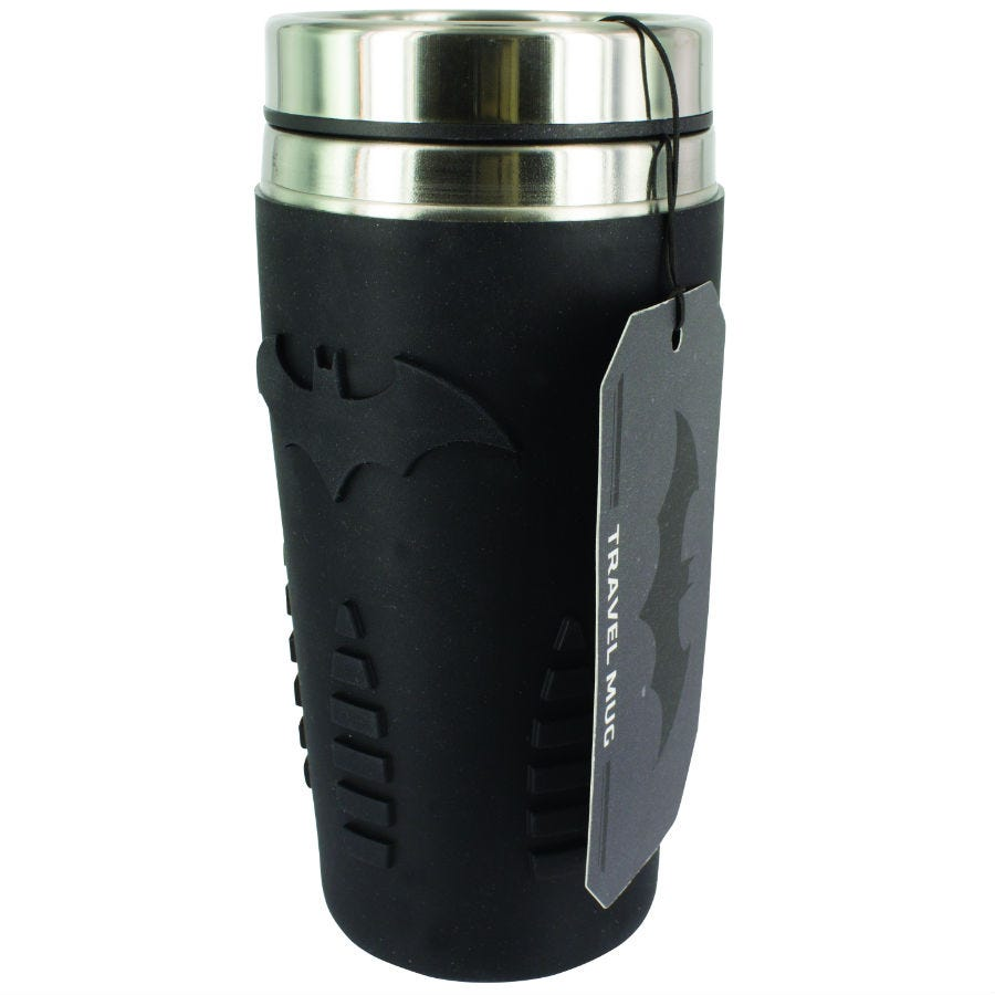 Compare cheap offers & prices of Batman Travel Mug manufactured by Batman