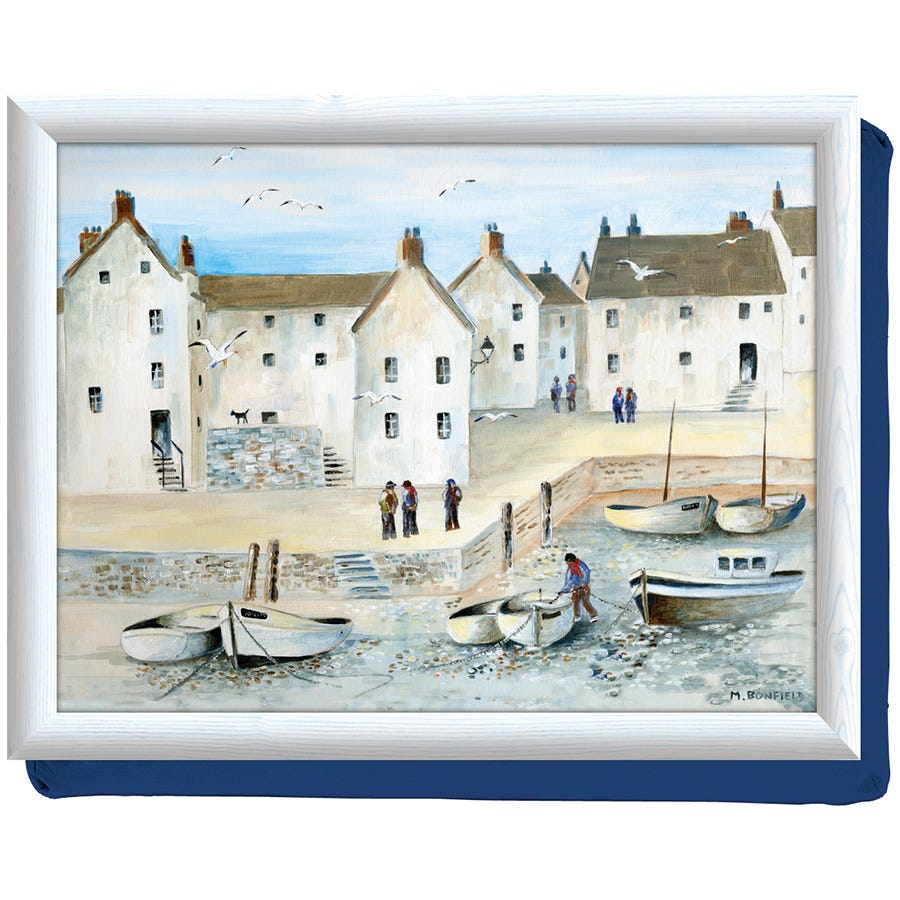Compare prices for Creative Tops Cornish Harbour Lap Tray