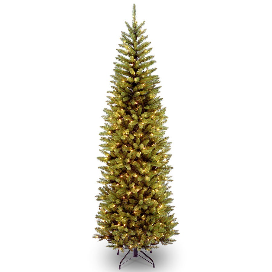 Compare prices for National Tree Company Kingswood Fir 250-LED Christmas Tree - 6.5ft