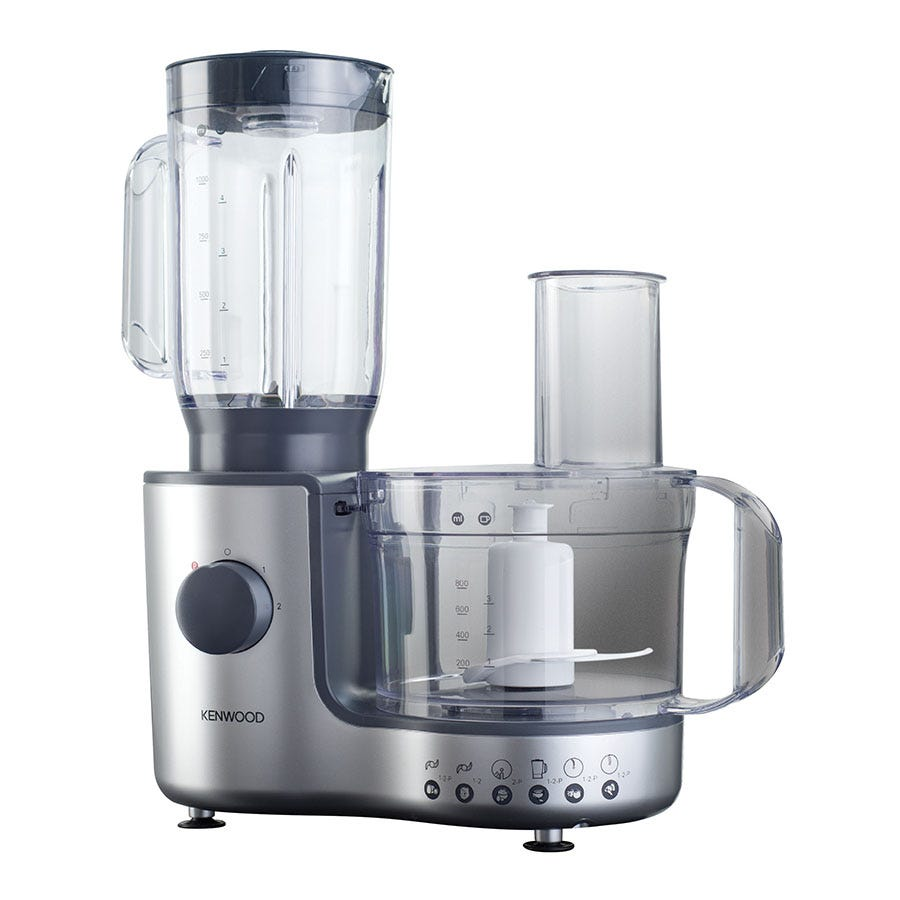 Kenwood 600W Silver Compact Food Processor