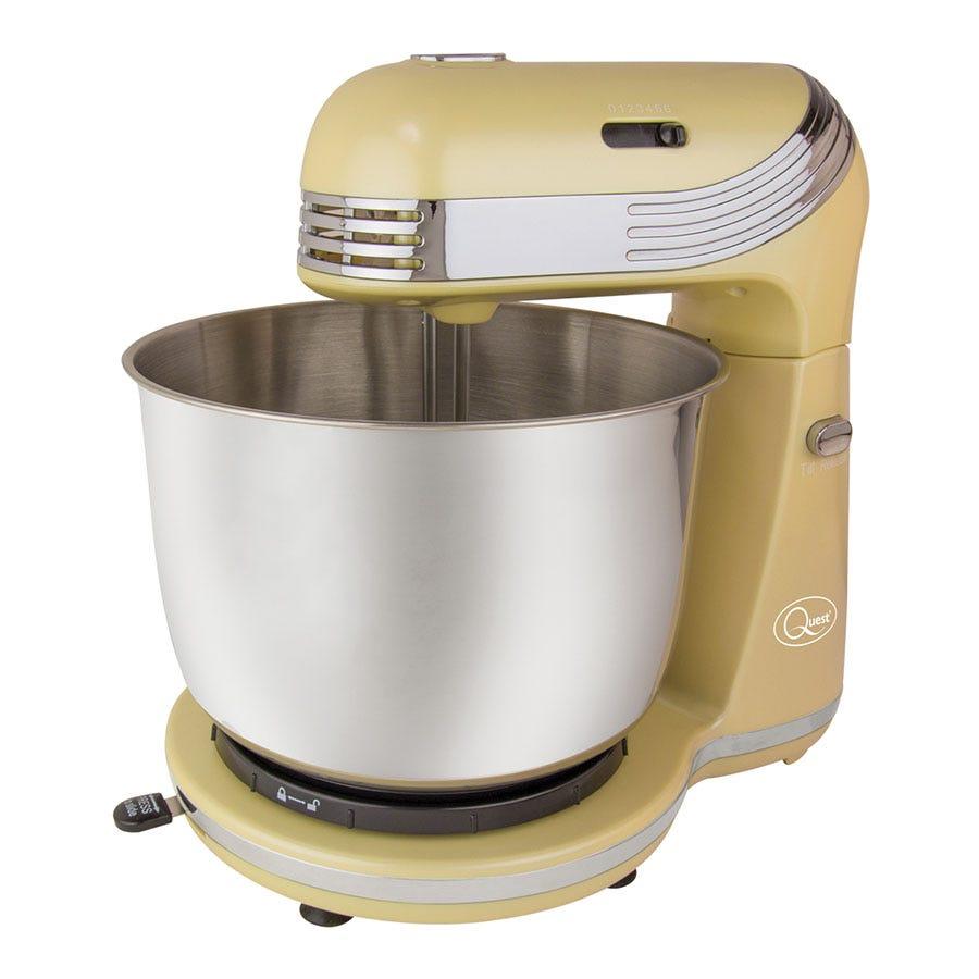 Quest 3L Stand Mixer - Cream