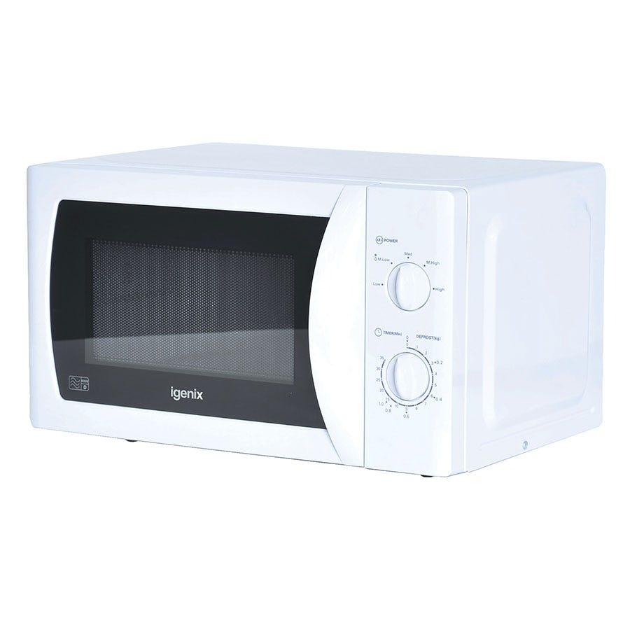 Igenix IG2008 20L Manual White Microwave