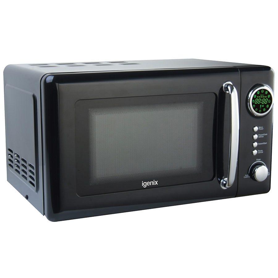 Igenix IG2031 20L Black Digital Microwave