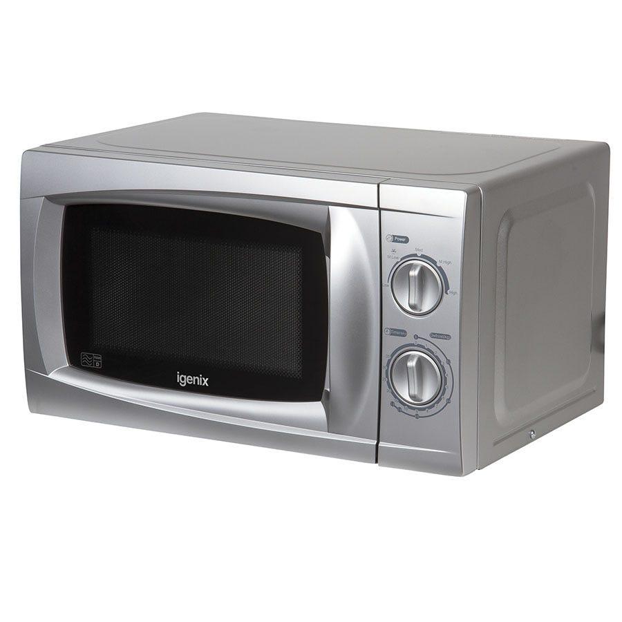 Igenix IG2807 20L Silver Manual Microwave